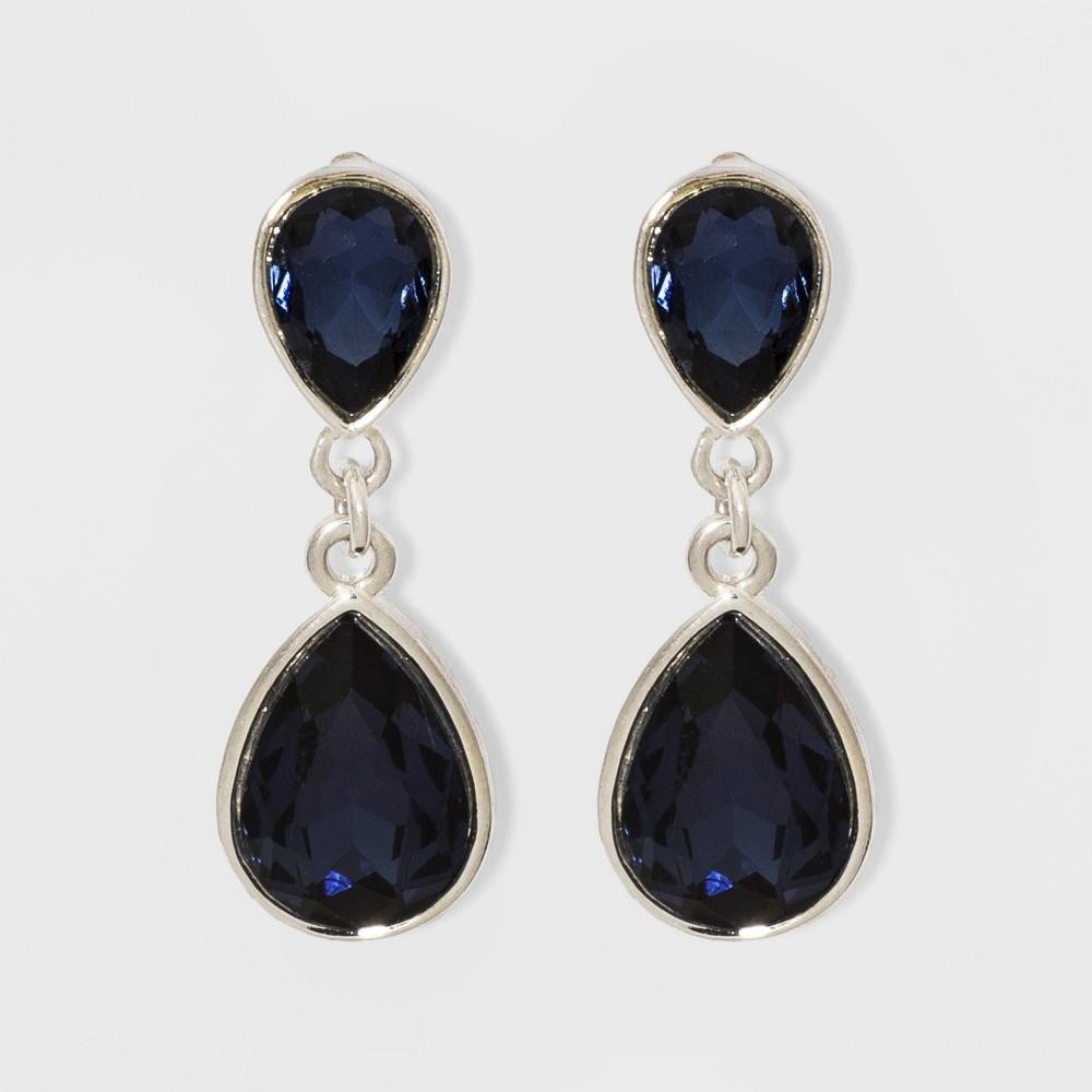 Teardrop Earrings - A New Day Blue