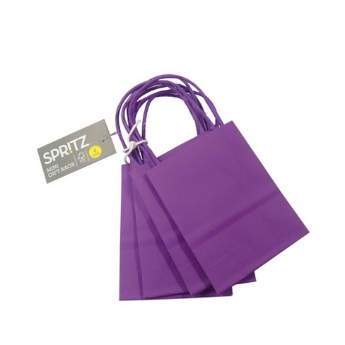 0ce510a6bbb4 4ct Purple Mini Bags - Spritz™   Target