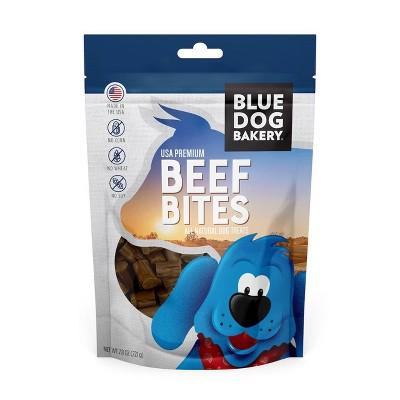 Blue Dog Bakery Beef Bites Chewy Dog Treats - 7.8oz