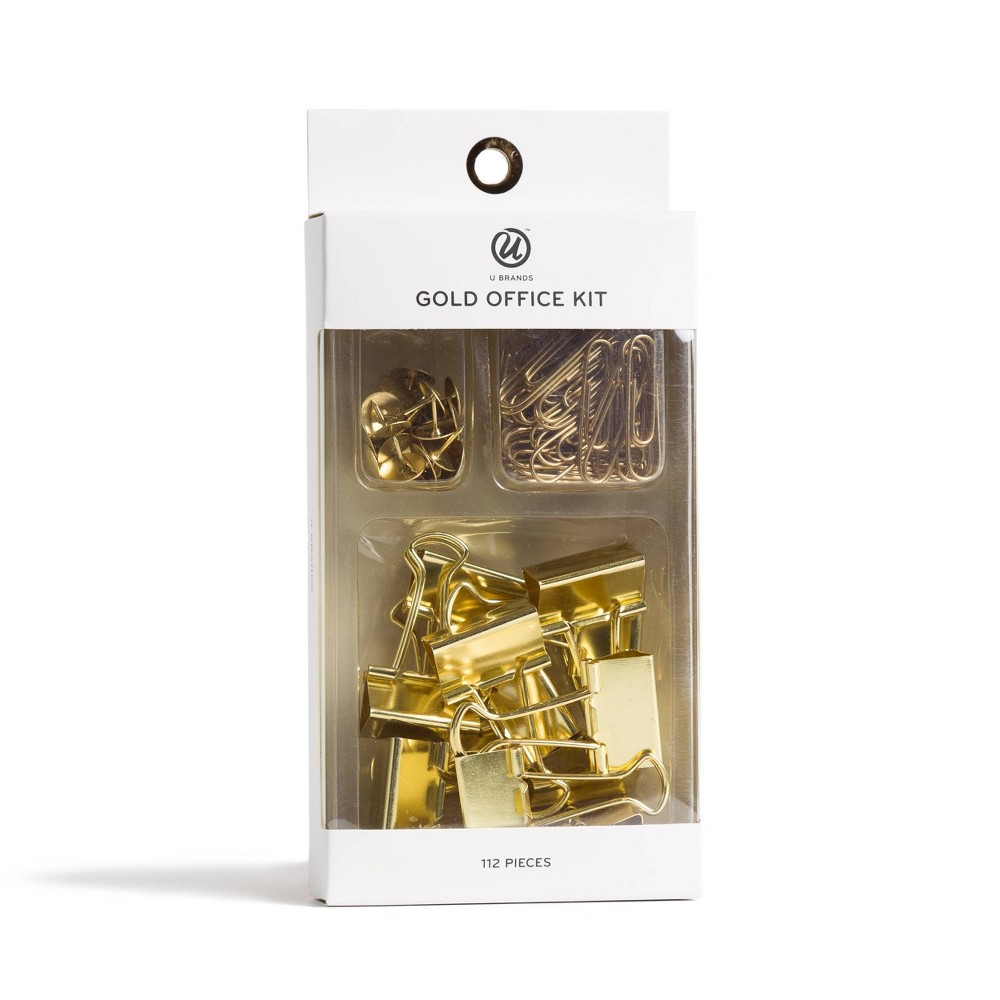 Image of 112ct Gold Office Kit - UBrands