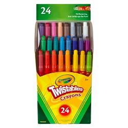 Crayola Twistable Crayons Mini 24ct