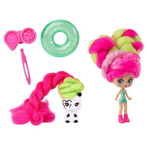 Candylocks Doll + Pet - Kiwi Kimmi & Hank-ster - image 1 of 4