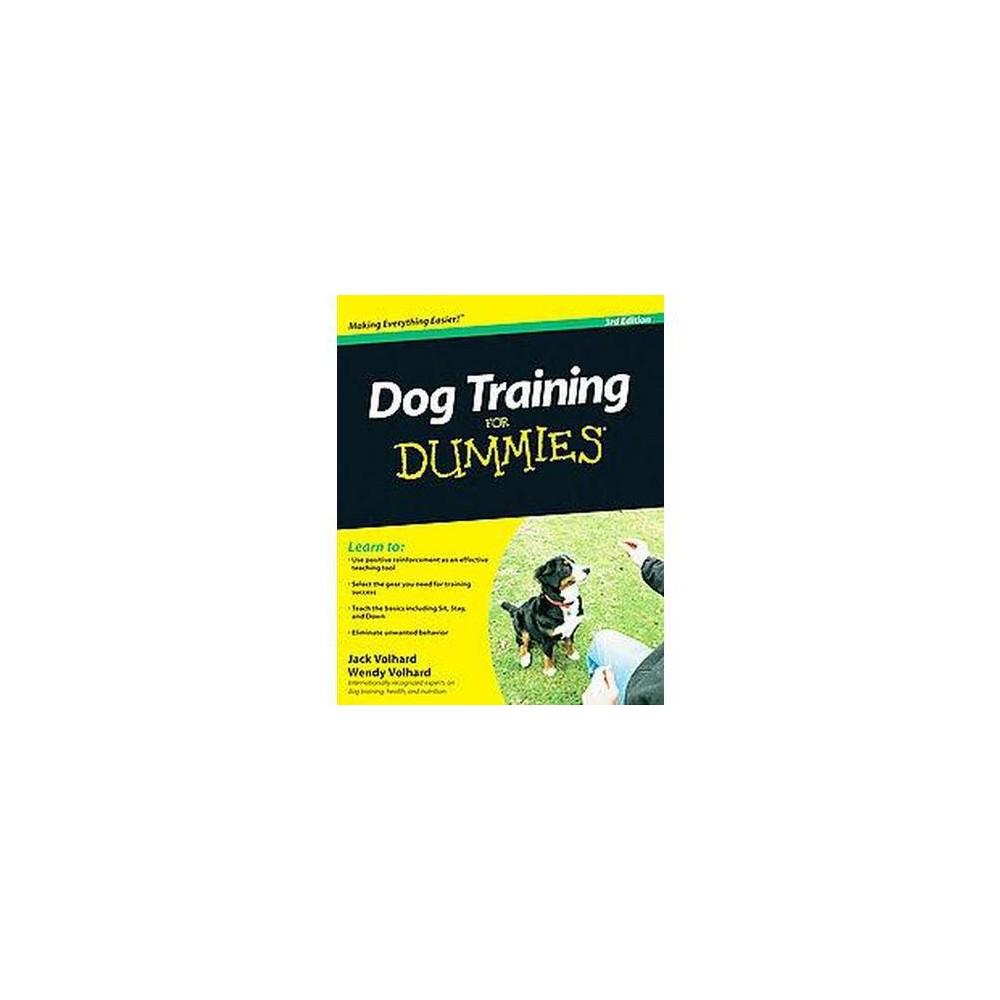 Dog Training for Dummies (Paperback) (Jack Volhard)