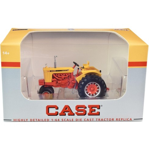 """Case 930 """"Comfort King"""" Narrow Front Tractor Yellow and Orange 1/64 Diecast Model by SpecCast - image 1 of 3"""