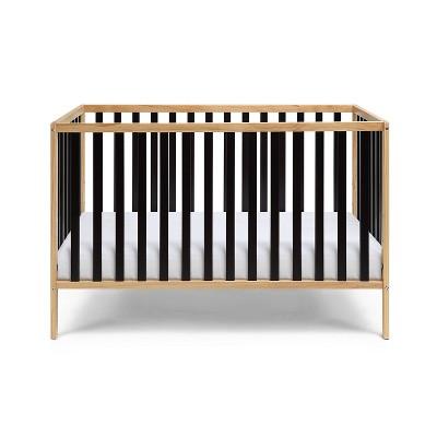 Suite Bebe Deux Remi Island Crib - Natural/Black