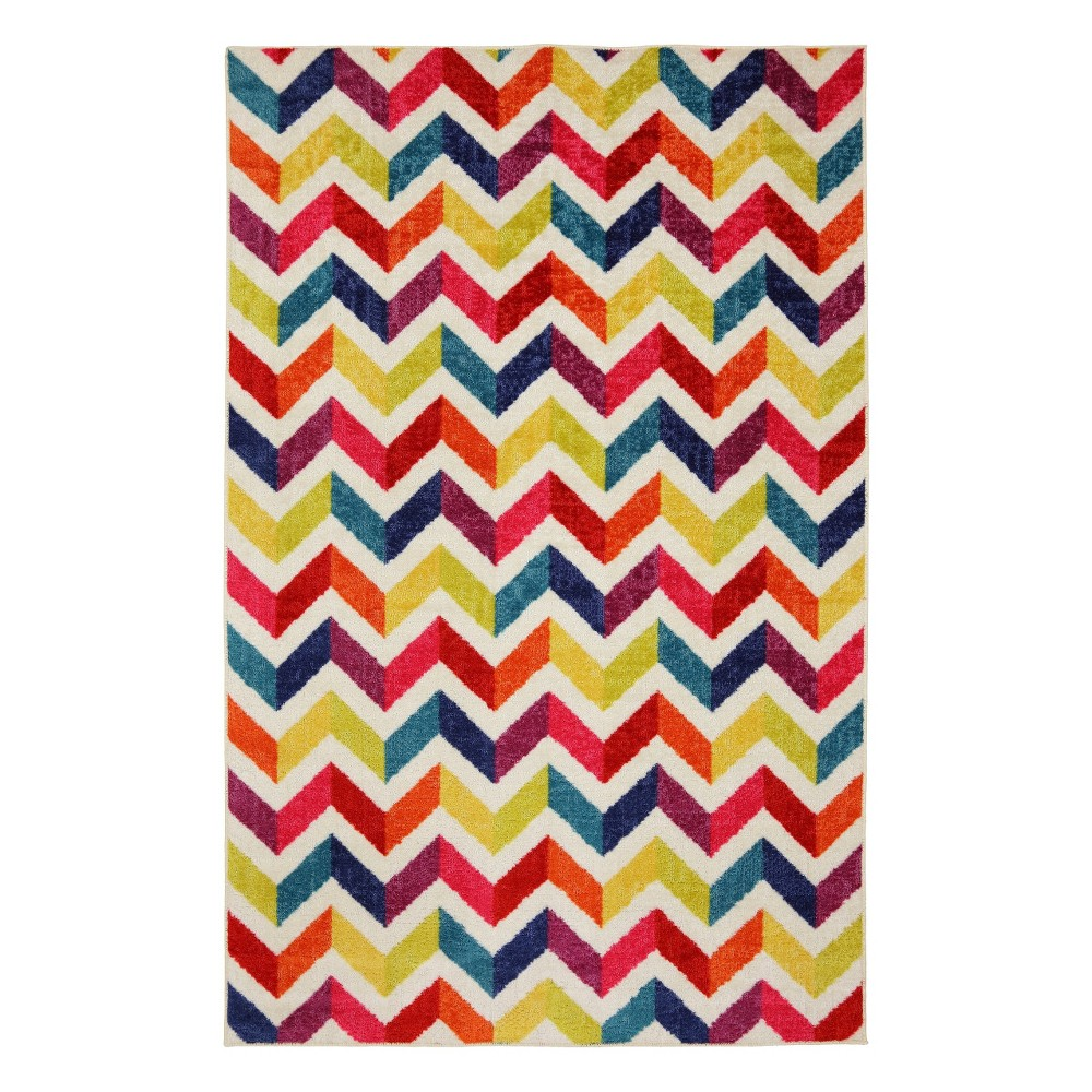 Image of 5'x8' Home Mixed Chevrons Area Rug - Mohawk, Size: 5'x8'