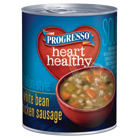 Progresso® Heart Healthy Italian-Style White Bean & Chicken Sausage Soup 18.5 oz - image 1 of 1
