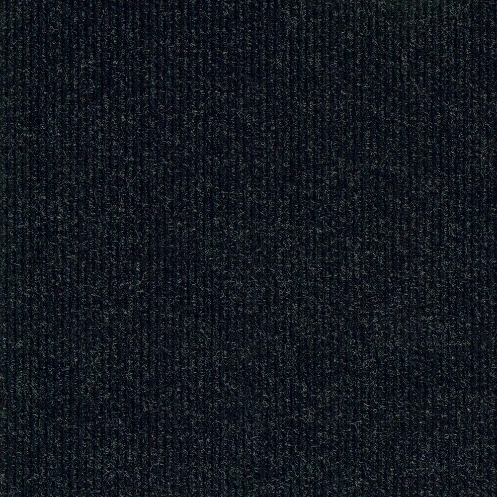 10pk Self Stick Carpet Tile Charcoal Gray