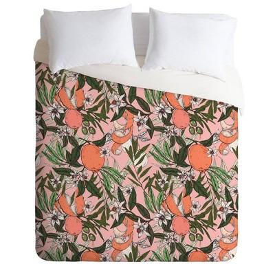 Marta Barragan Camarasa Olives in the Flowers Comforter & Sham Set - Deny Designs