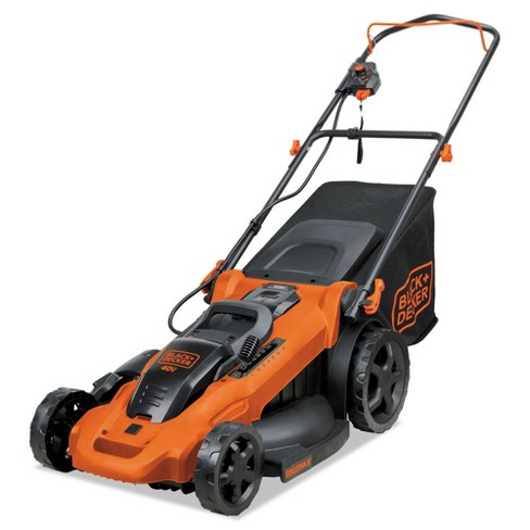 Black & Decker CM2043C 40V MAX Brushed Lithium-Ion 20 in. Cordless Lawn Mower Kit with (2) Batteries (2 Ah) - image 1 of 4