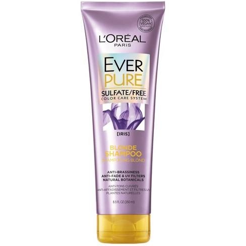 L'Oreal Paris EverPure Sulfate Free Blonde Shampoo - 8.5 fl oz - image 1 of 3