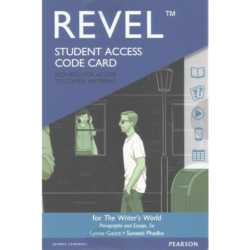 Writers World Revel Access Code  Paragraphs And  Target About This Item