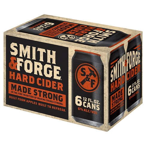 Smith & Forge® Hard Cider - 6pk / 12oz Cans - image 1 of 1
