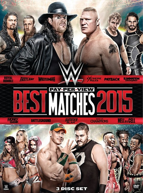 Wwe:Best Ppv Matches 2015 (DVD) - image 1 of 1