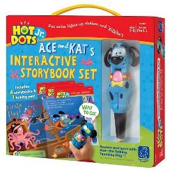 Hot Dots Jr. Story Book 4-Book Set W Ace Pen