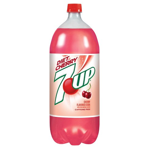 Diet 7UP Cherry - 2 L Bottle - image 1 of 2