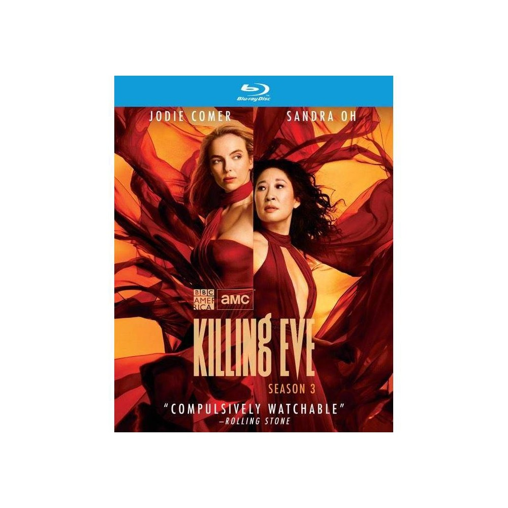 Killing Eve Season Three Blu Ray 2020