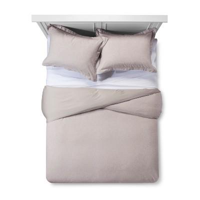 Pebble Cotton Cashmere Duvet Cover Set (King)- Fieldcrest®