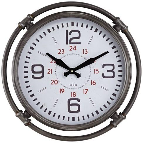 River Parks Studio Marco 18 3 4 High Metal Wall Clock Target