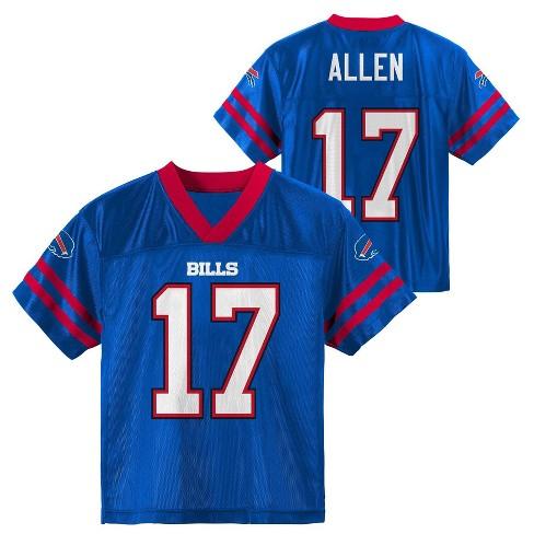 sale retailer 17230 a991e NFL Buffalo Bills Boys' Allen Josh Jersey - S
