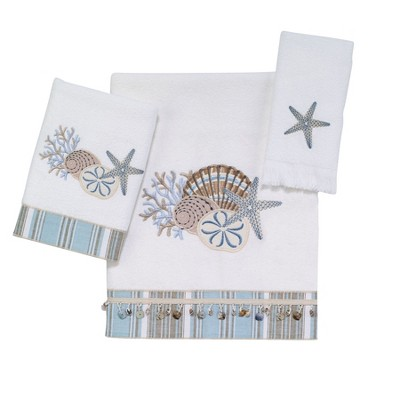 Avanti By the Sea 3 Pc Towel Set
