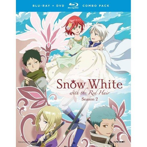 Snow White With Red Hair Season Two Blu Ray