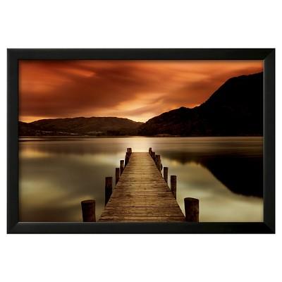 Art.com Ullswater, Glenridding, Cumbria by Mel Allen - Framed Art Print