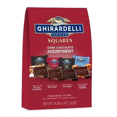 Ghirardelli Premium Dark Assortment Chocolate Squares - 14.86oz