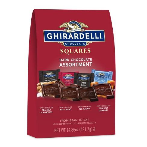 Ghirardelli Premium Dark Assortment Chocolate Squares - 14.86oz - image 1 of 4