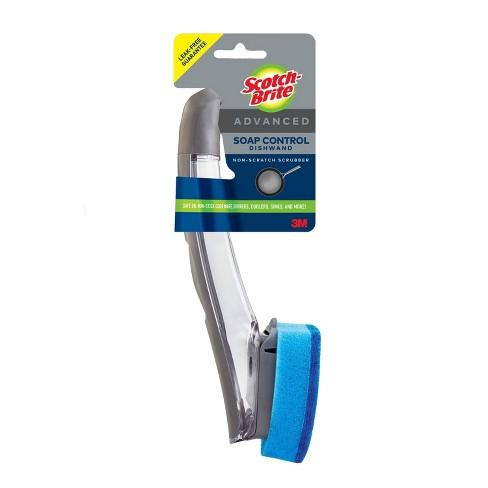Scotch-Brite Advanced Soap Control Non - Scratch Scrubber Dishwand - image 1 of 4