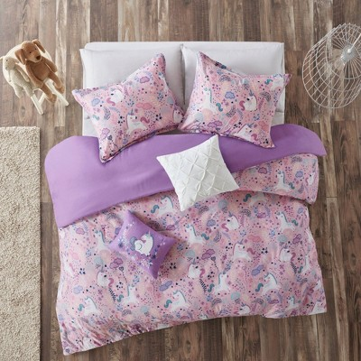 Laila Cotton Printed Duvet Cover