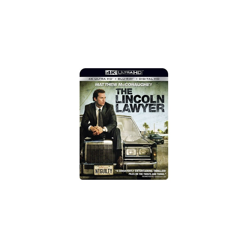 Lincoln Lawyer (4K/Uhd), Movies