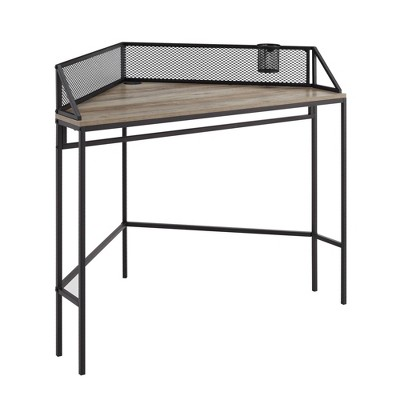 Industrial Corner Desk - Saracina Home
