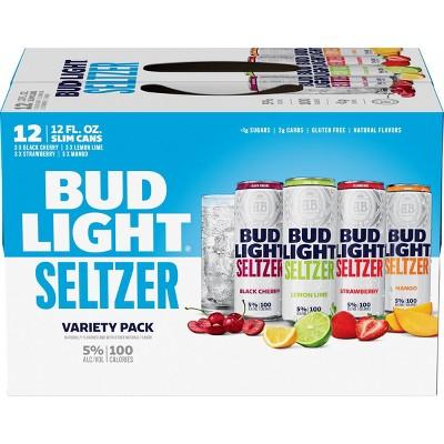 Bud Light Hard Seltzer Variety Pack - 12pk/12 fl oz Cans