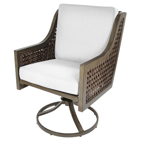 - Fabron 2pk Wicker Swivel Rocker Dining Chair - Threshold™ : Target
