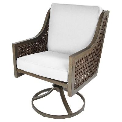 Fabron 2pk Wicker Swivel Rocker Dining Chair   Threshold™ : Target