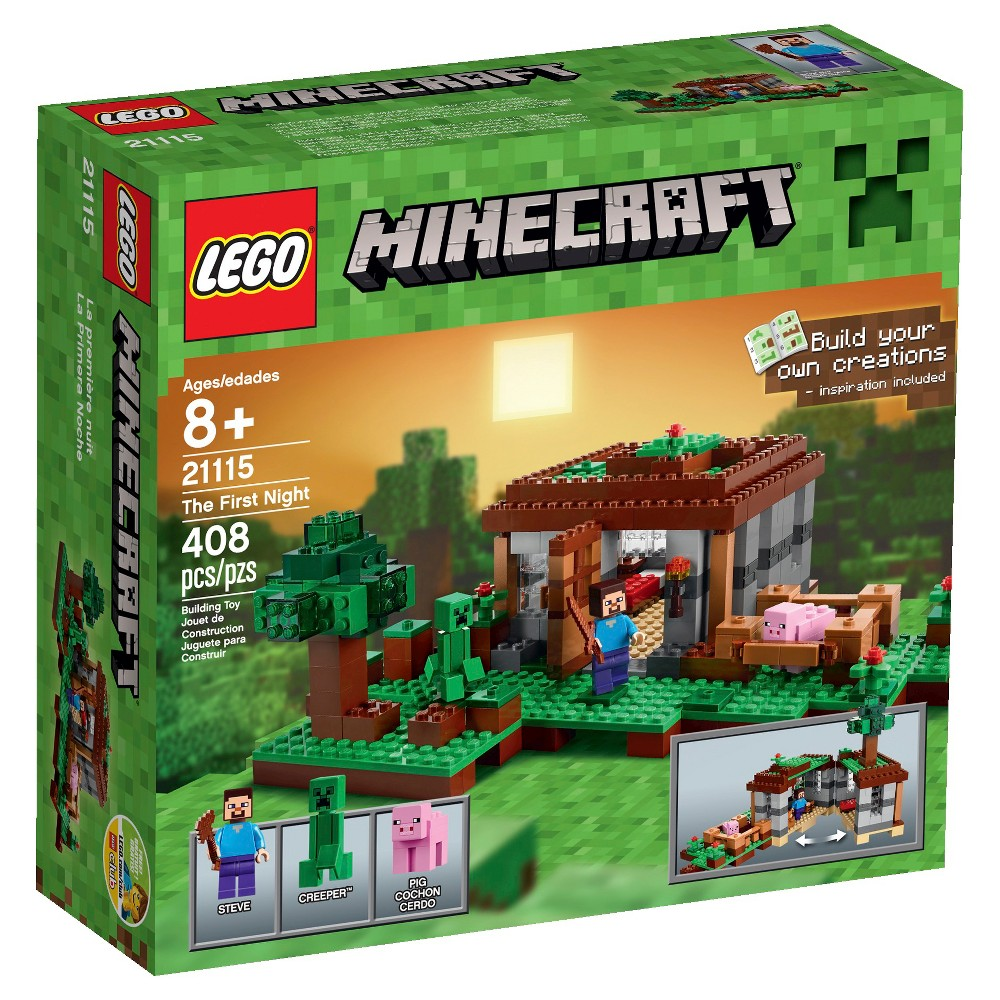 Lego Minecraft Creative Adventures The First Night 21115