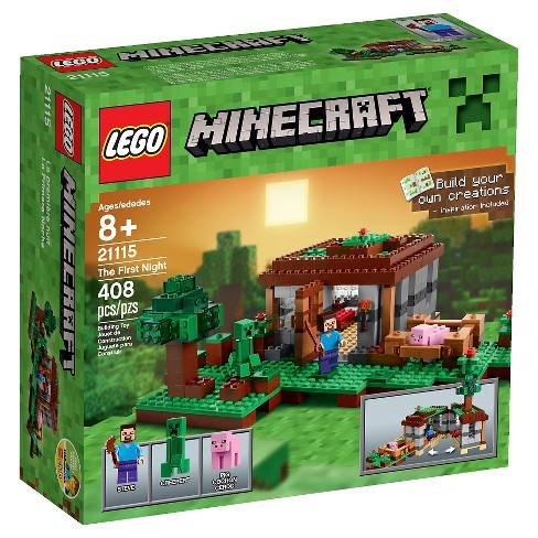 LEGO® Minecraft Creative Adventures The First Night 21115 - image 1 of 13