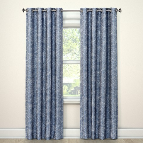 84 X50 Blackout Curtain Panel Modern