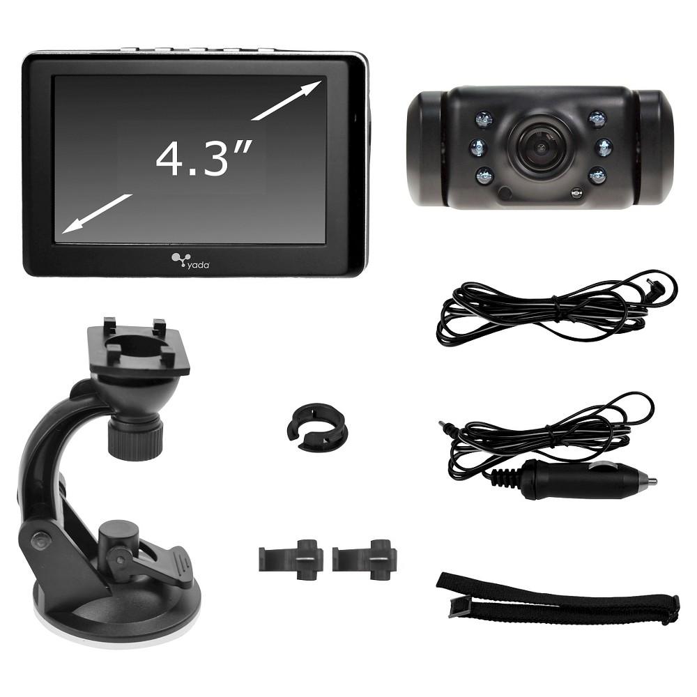 Yada Wireless Backup Camera with 4.3 Dash Monitor