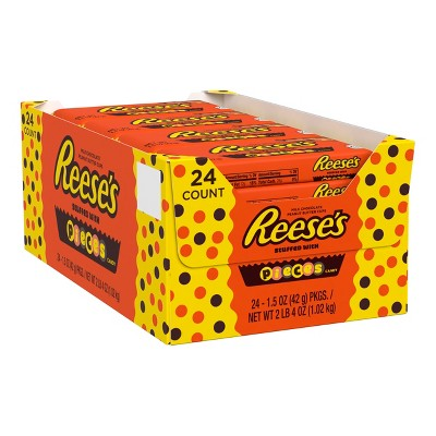 Reeses Pieces Candy - 1.5oz/24ct