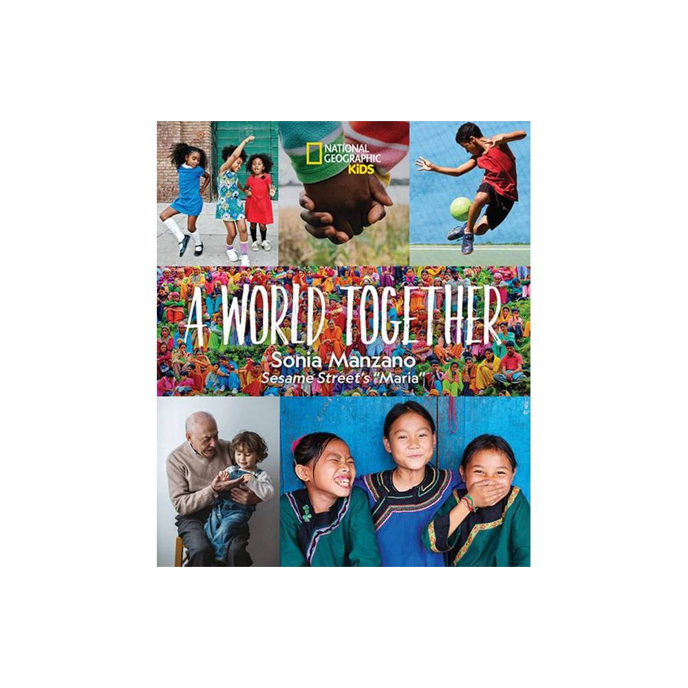 A World Together - by Sonia Manzano (Hardcover) Sonia Manzano, Sesame Street's beloved character Maria, brings warmth and wit to this timely picture book that looks across cultures and generations to celebrate what unites us, wherever we come from. Manzano's lyrical prose combined with stunning photography of people from dozens of countries around the world explores how all of our lives are enriched by our geographic and cultural diversity. Kids see how people around the world look, dress, and spend their day, and learn that what we enjoy and value--friends, family, food, play--may sometimes look different, but deep down is the same wherever you go. This lovely picture book from a first-generation American affirms our common humanity as it presents the glorious similarities and differences that connect us all. It's a charming book to share with friends and family and to read aloud with little ones. It has an inspiring message: With laugher and love, we can help bring a world together.