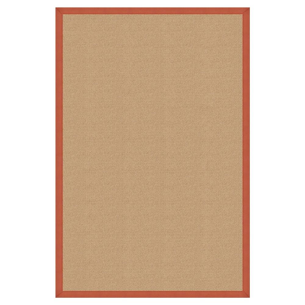Athena Wool Area Rug - Orange (9'10 X 13')