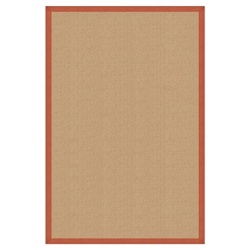 """Athena Wool Area Rug - Orange (9'10"""" X 13') - image 1 of 1"""