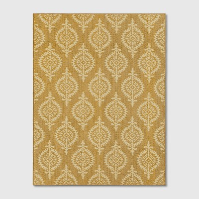 10'X13' Paisley Tufted Area Rugs Gold - Threshold™