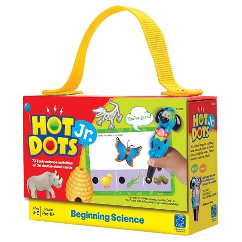 Hot Dots Jr. Cards - Beginning Science - image 1 of 1