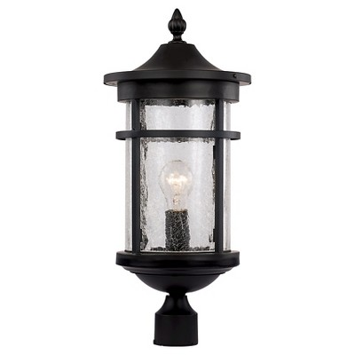 Bel Air Lighting Outdoor Post Light Black : Target