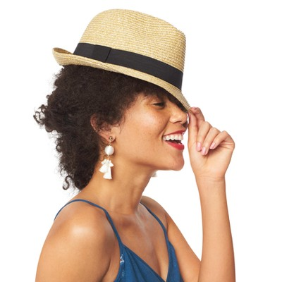 Women\u0027s Fedora Hat - A New Day™ : Target