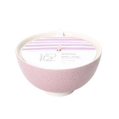 7.8oz Bowl Candle Mirage Amber & Vanilla - Project 62™
