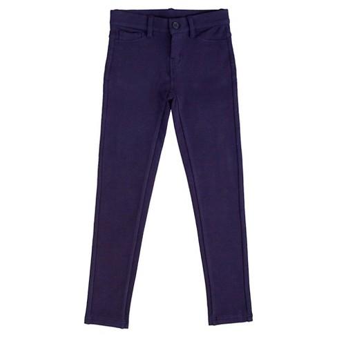 10371c72712c75 Eddie Bauer® Girls' Stretch Leggings 12 - Navy : Target